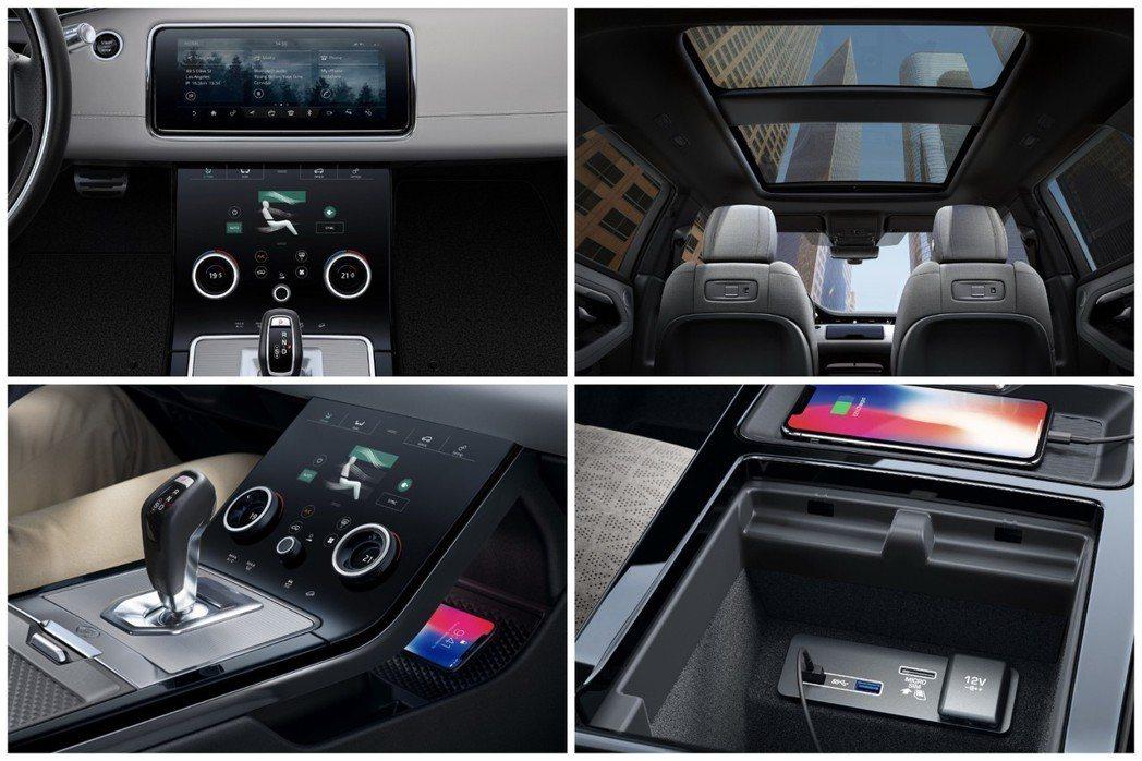 新世代Range Rover Evoque車內導入雙10吋Touch Pro D...