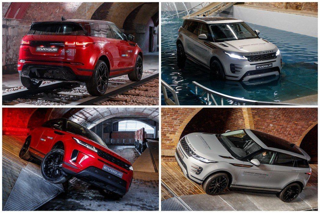新世代Range Rover Evoque搭載了全地形Terrain Respo...