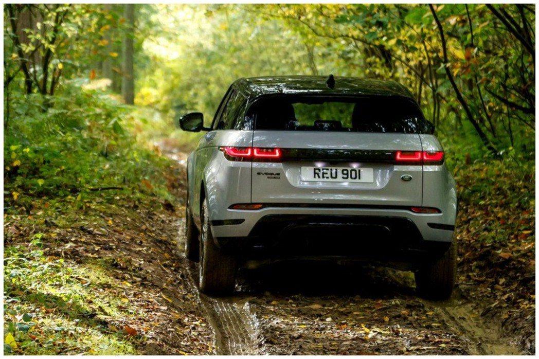 新世代Range Rover Evoque導入了48V Mild-Hybrid輕...