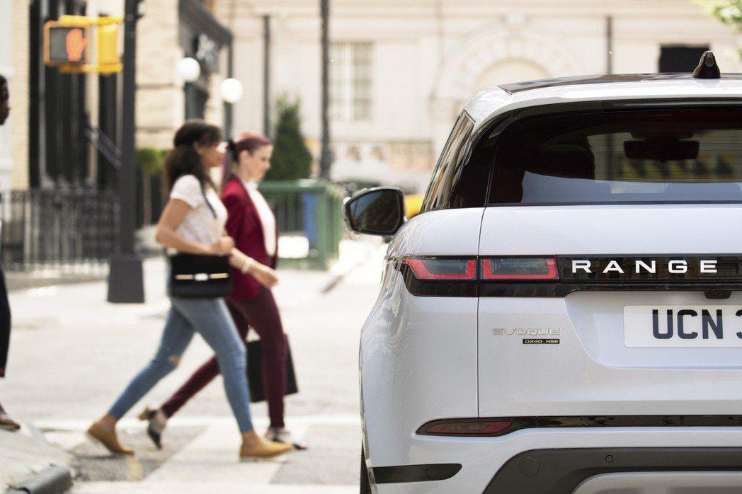 新世代Range Rover Evoque。 摘自Land Rover