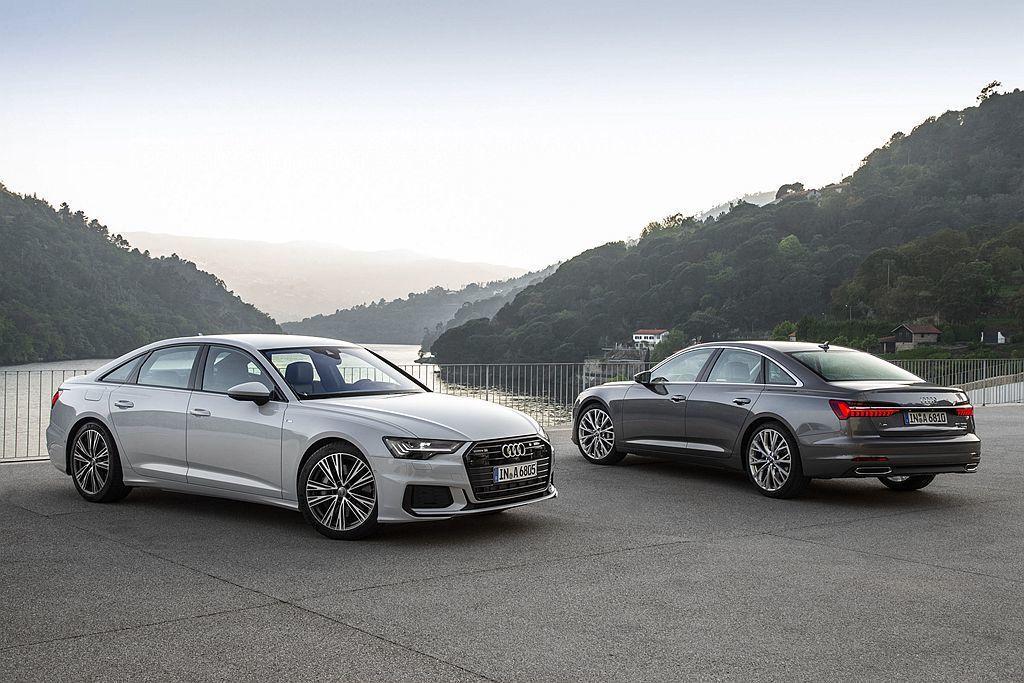 新世代Audi A6、A7以及Q8等車,V6以上動力車型都已經導入MHEV新型輕...