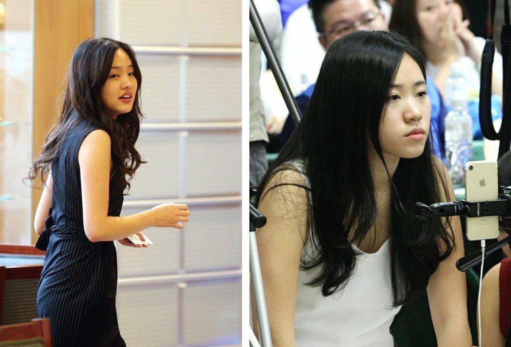 韓冰、韓青兩姐妹,讓不少鄉民「戀愛了」! 圖片來源/聯合報系