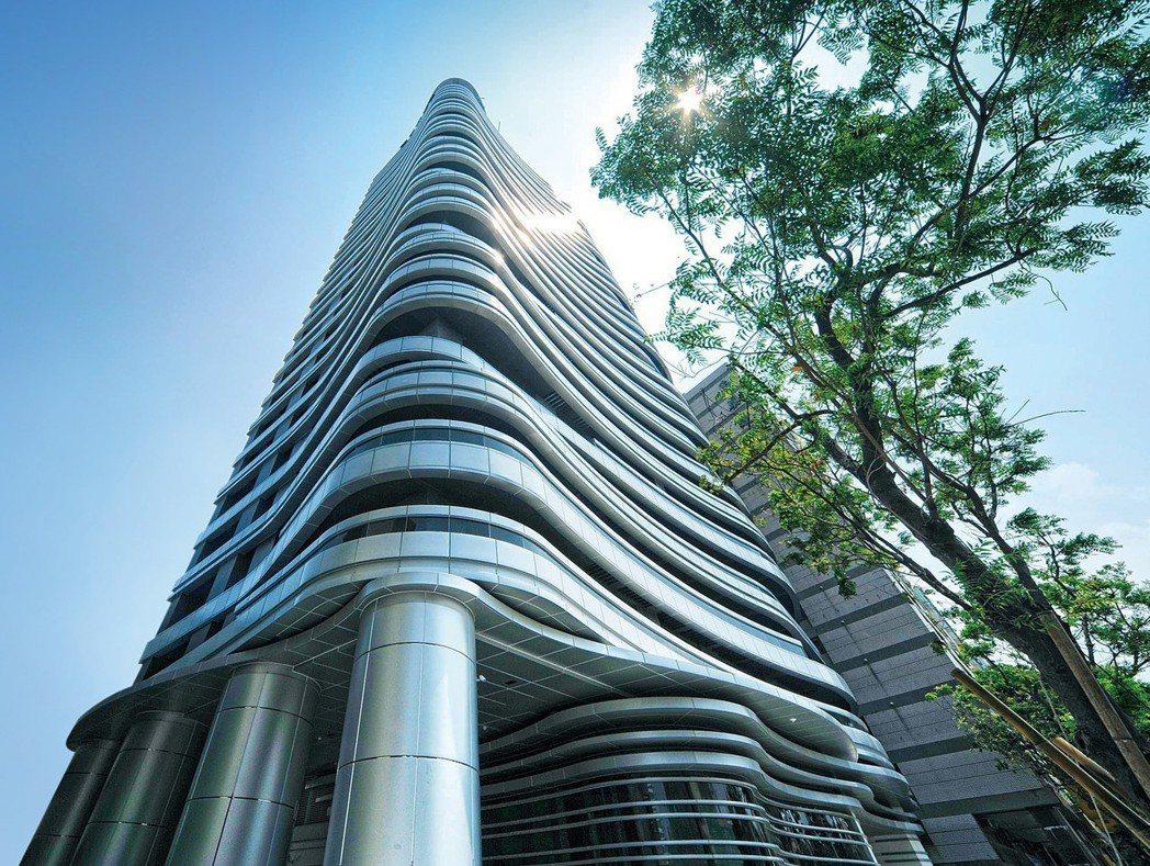 「天峰」坐北朝南,零店面,正對COSTCO及義享天地。 圖片提供/京城建設