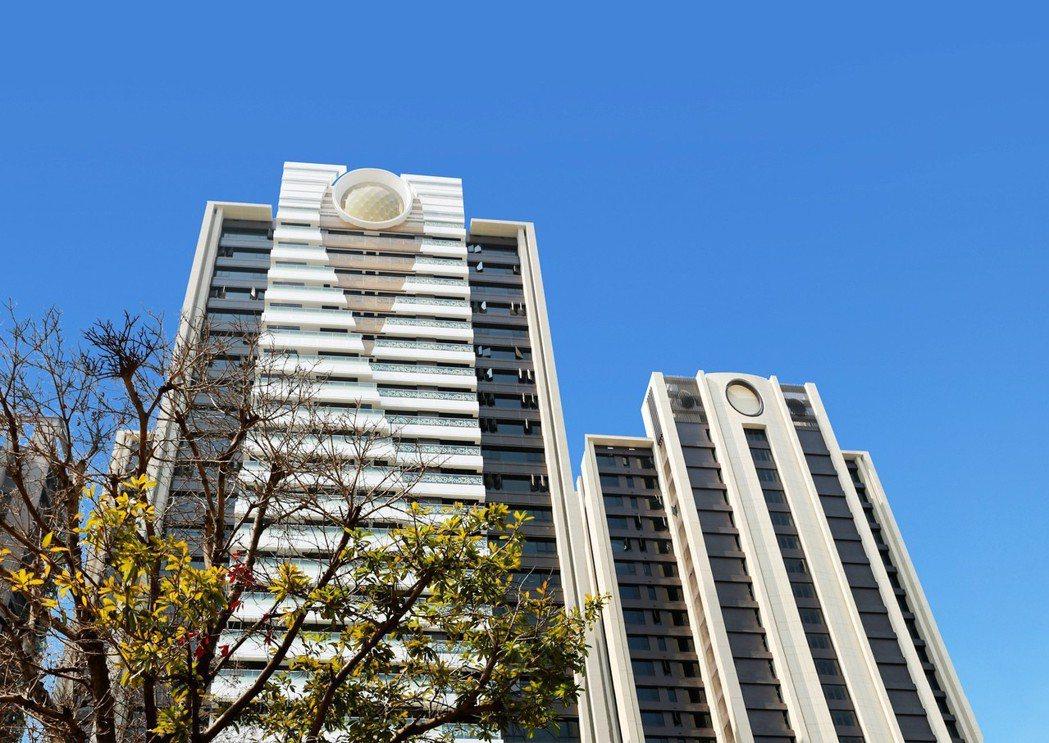 「京城鉅誕」走路就可到漢神巨蛋。 圖片提供/京城建設