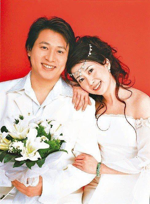 孟庭葦與張志鵬婚紗照。圖/孟庭葦提供