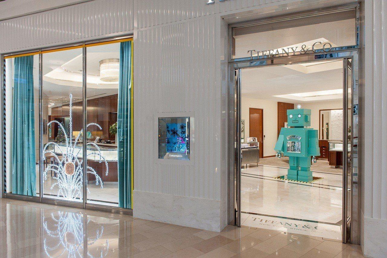 Tiffany 101專門店呈現璀璨煙花,置身充滿童趣創意的奇幻世界。圖/Tif...