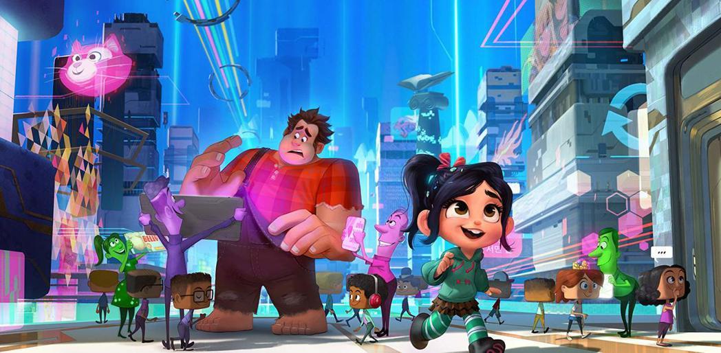 「無敵破壞王2:網路大暴走」美國一上映票房就開出大紅盤。圖/摘自imdb