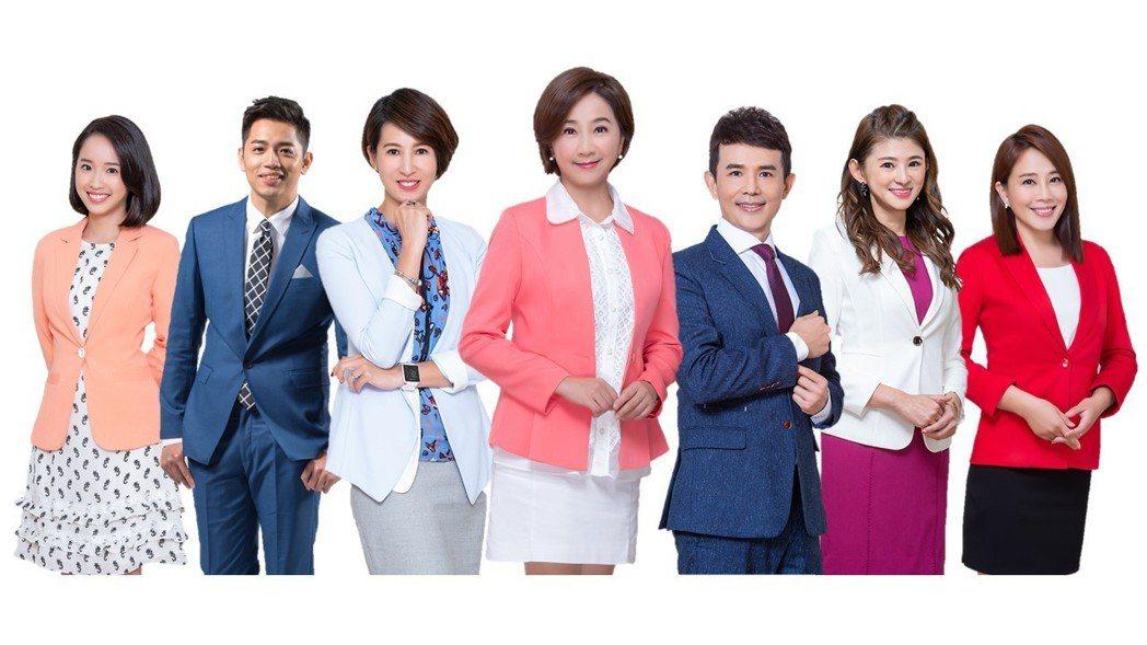 TVBS當家主播全數出動。圖/TVBS提供