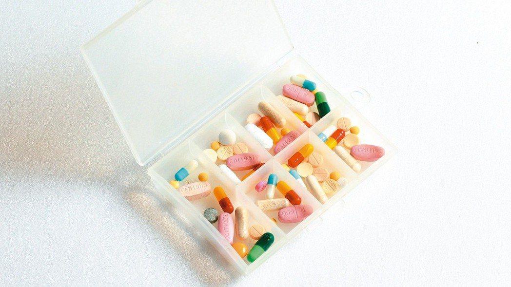 血壓藥示意圖。圖/聯合報系資料照片