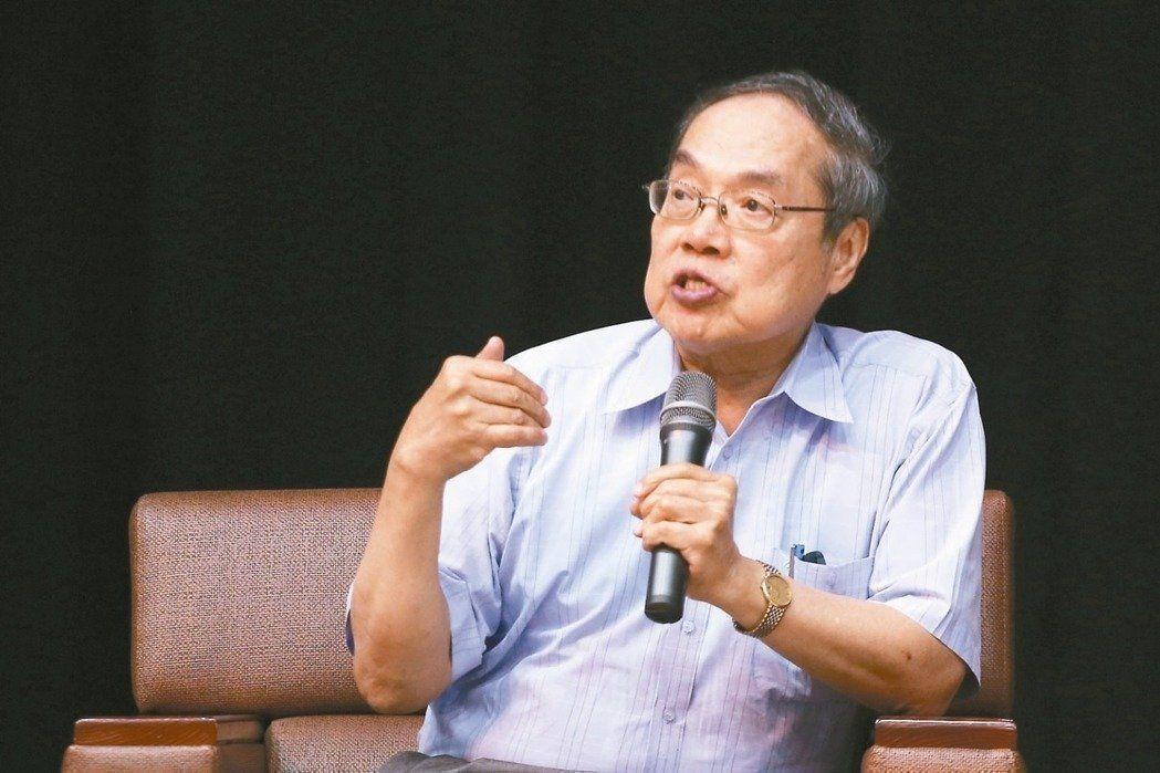 政大台文所教授陳芳明。聯合報系資料照