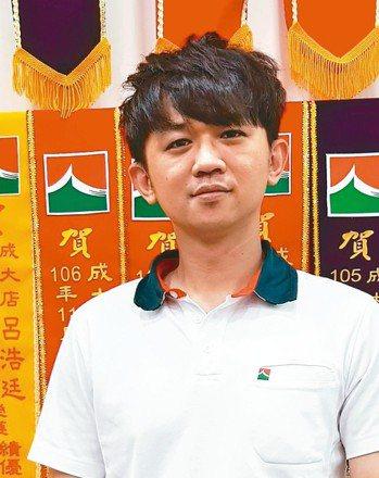 呂浩廷(信義房屋市府華平店),37歲,入行8年。 圖/信義房屋提供