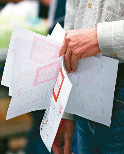根據中選會網站資料,上次九合一選舉六都市議員投票率為66.48%。 記者杜建重/...