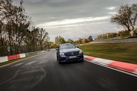 影/紐柏林最速SUV換人啦 Mercedes-AMG GLC 63 S飆破紀錄!