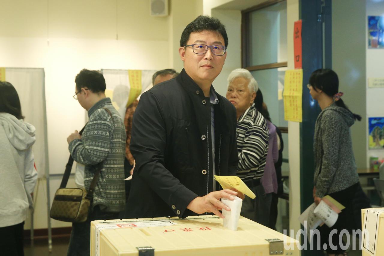 民進黨台北市長候選人姚文智。記者林伯東/攝影