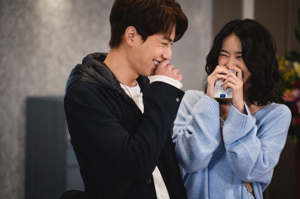 鍾瑶、林子閎在戲中互動逗趣。圖/東森提供