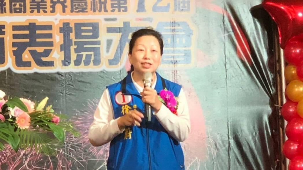 國民黨花蓮縣長候選人徐榛蔚,即將自行宣布當選。資料照片/國民黨花蓮縣黨部提供