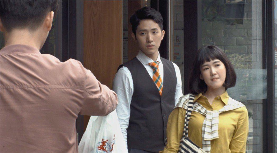 孫可芳(左)、楊孟霖演出「8號公園」。圖/公視提供