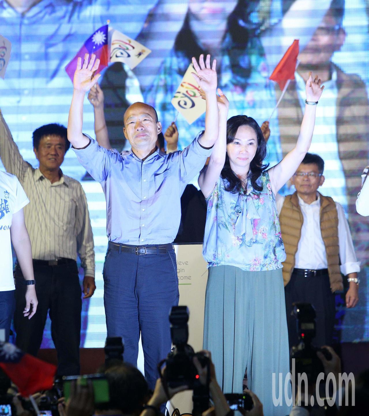 韓國瑜成功讓高雄綠地變藍天。聯合報系記者劉學聖/攝影