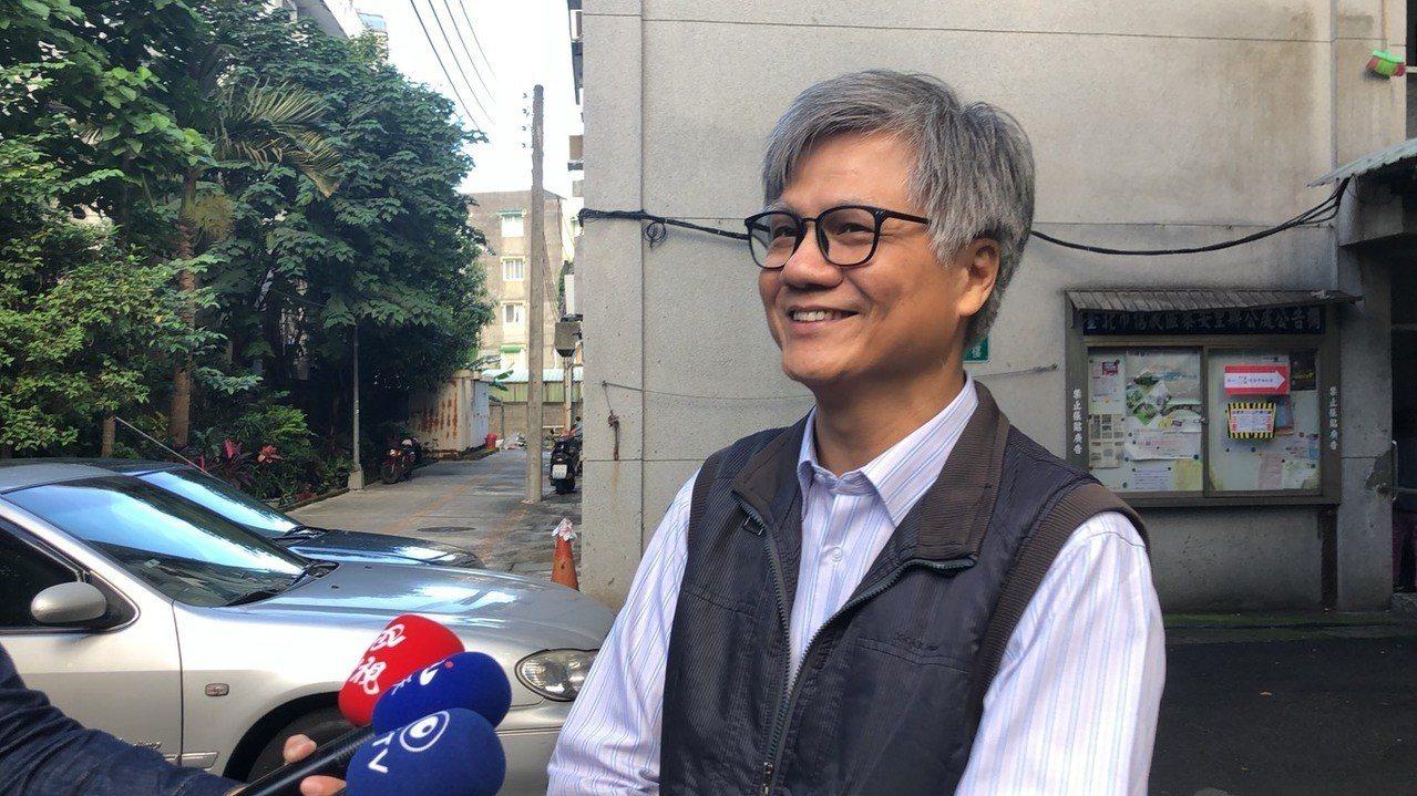台北市長候選人吳蕚洋。聯合報系資料照/記者陳靖宜攝影