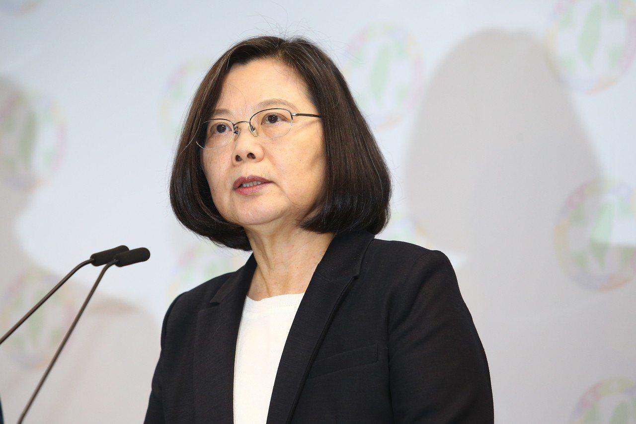 蔡總統操作統獨議題,民進黨還是大敗。 記者王騰毅/攝影