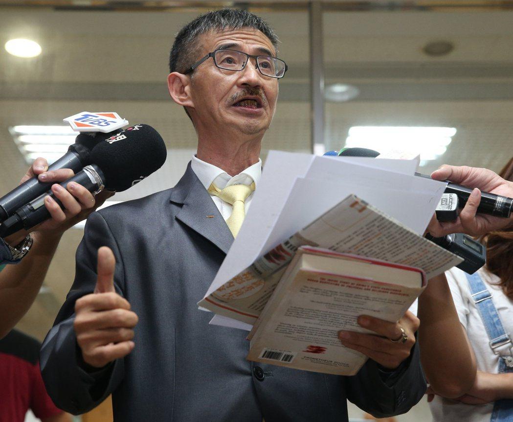 吳祥輝今年九月對柯文哲提告。圖╱聯合報系資料照片