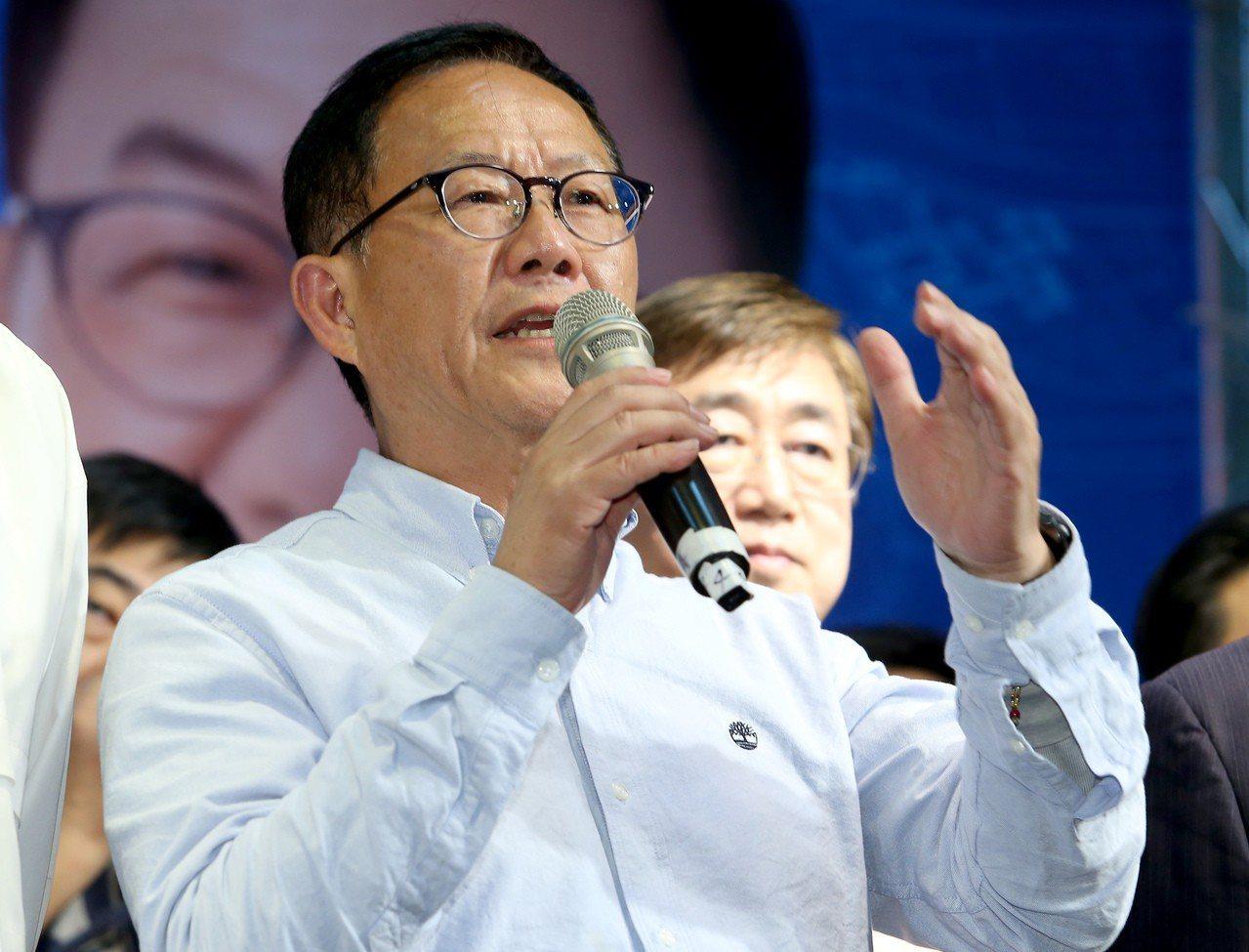 國民黨台北市長候選人丁守中以些微票數之差落選,他痛批這場選舉從投票到開票,充滿著...
