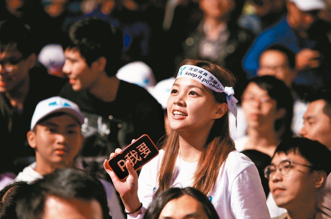 2018年選舉結果大幅翻盤,凸顯台灣選民越來越不相信藍綠,無黨派的中間選民變多了...