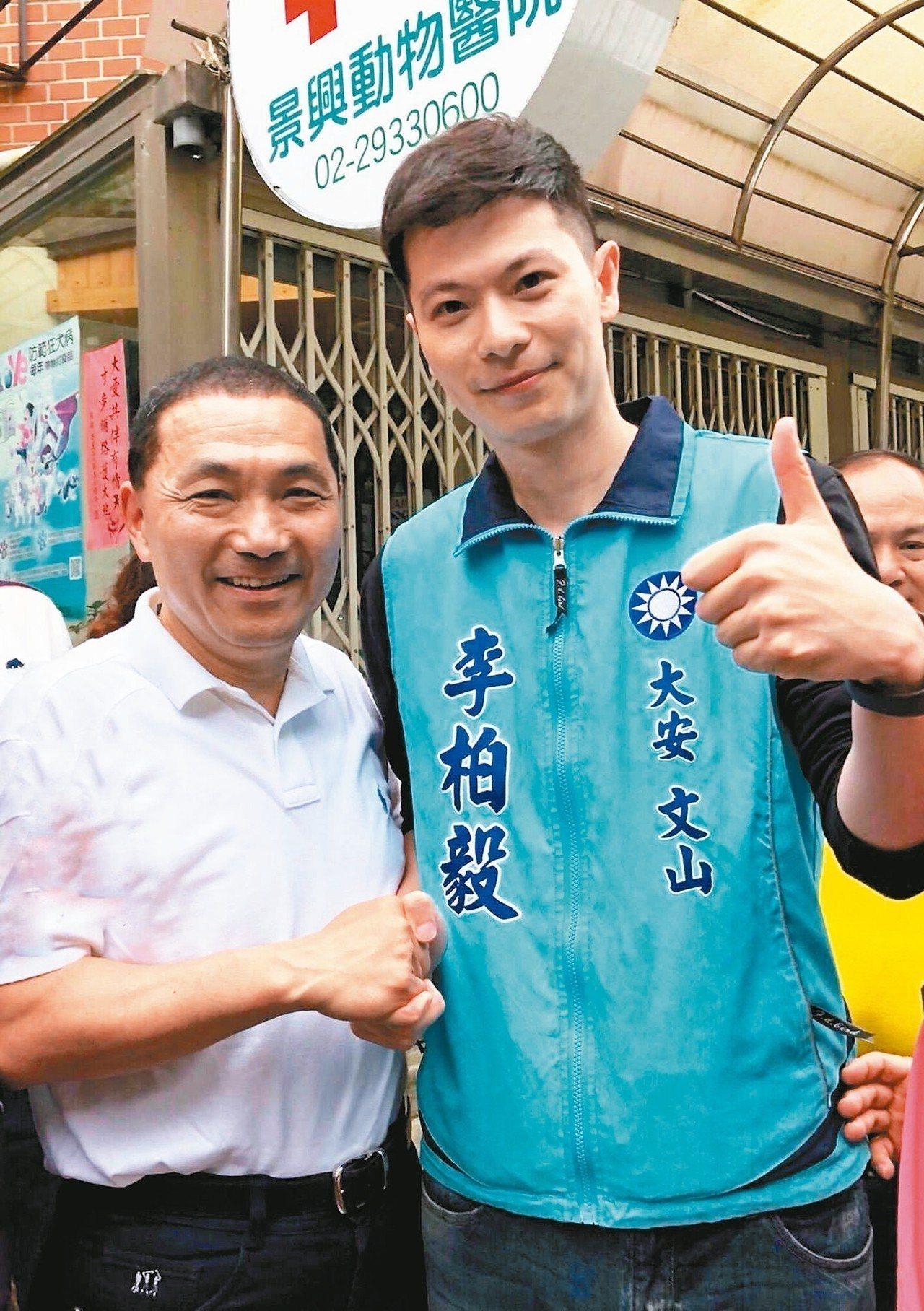 李柏毅(右)。 圖/取自李柏毅臉書