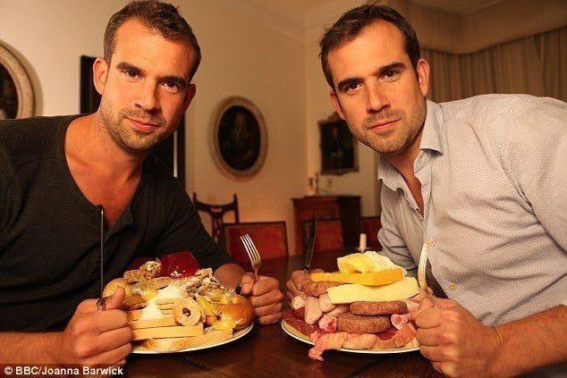 BBC 2014年拍了一部紀錄片「糖脂大戰」,請了一對擔任醫生的雙胞胎進行實驗。