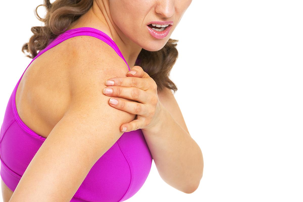 舒緩上背痛、五十肩 復健科醫師教你怎麼用球按摩 圖/ingimage