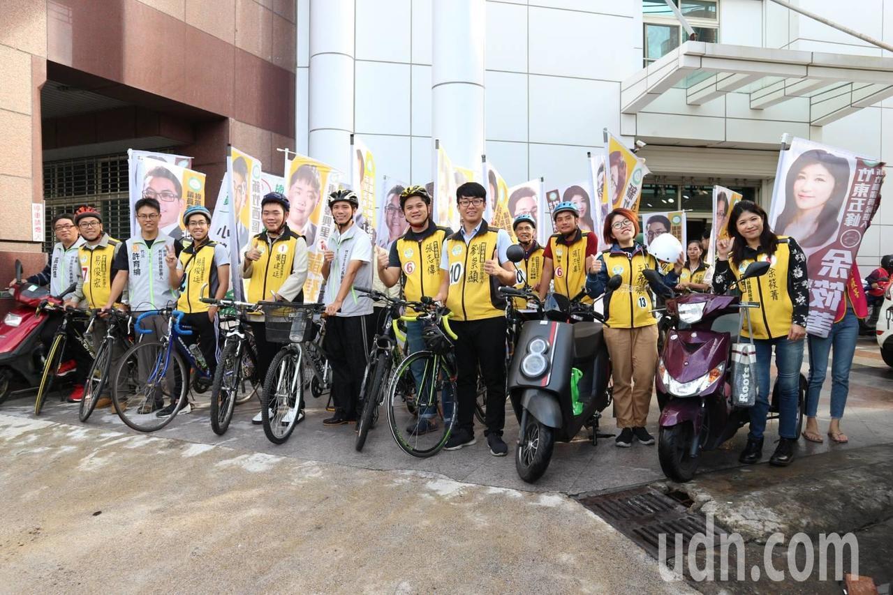 綠黨新竹市議員候選人劉崇顯高票當選。圖/報系資料照