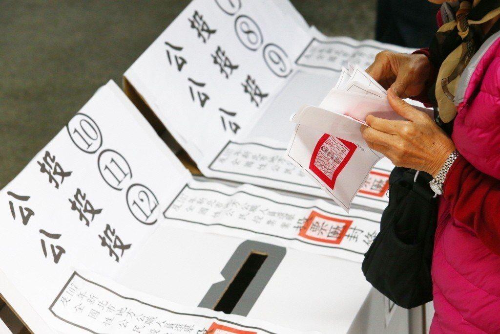 台灣史上最多的公投案,7案通過、3案遭否決。記者王騰毅/攝影