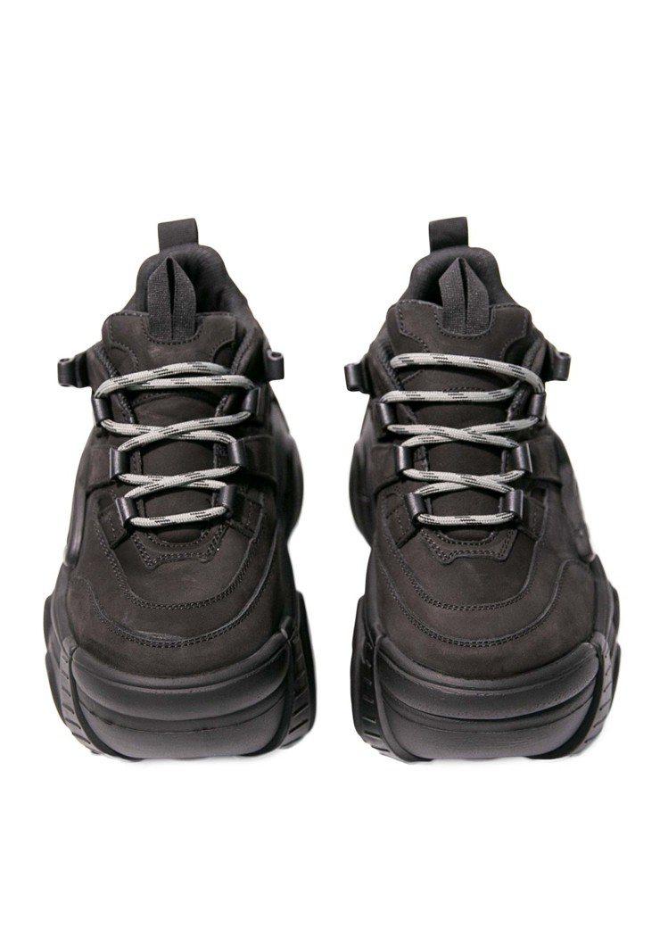 Vetements × Swear絨面厚底老爹鞋,65,500元。圖/團團精品提...