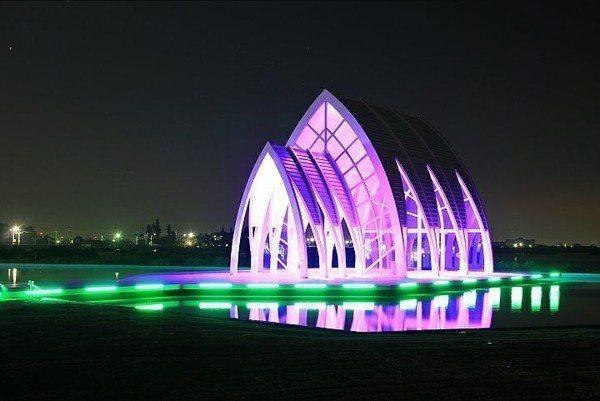 台南北門水晶教堂開放入內參觀。圖/摘自台南北門水晶教堂粉絲團