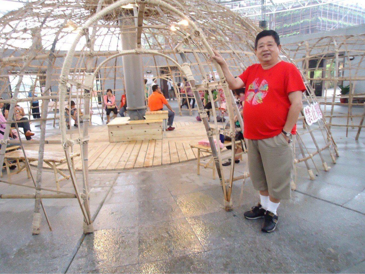 吳先生在接受減重縮胃手術前,體重達97公斤。圖/安南醫院提供