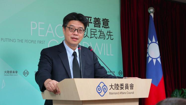 陸委會今天指出,台灣地方選舉及公民投票,是我國的內部事務,中共當局應尊重並正確認...