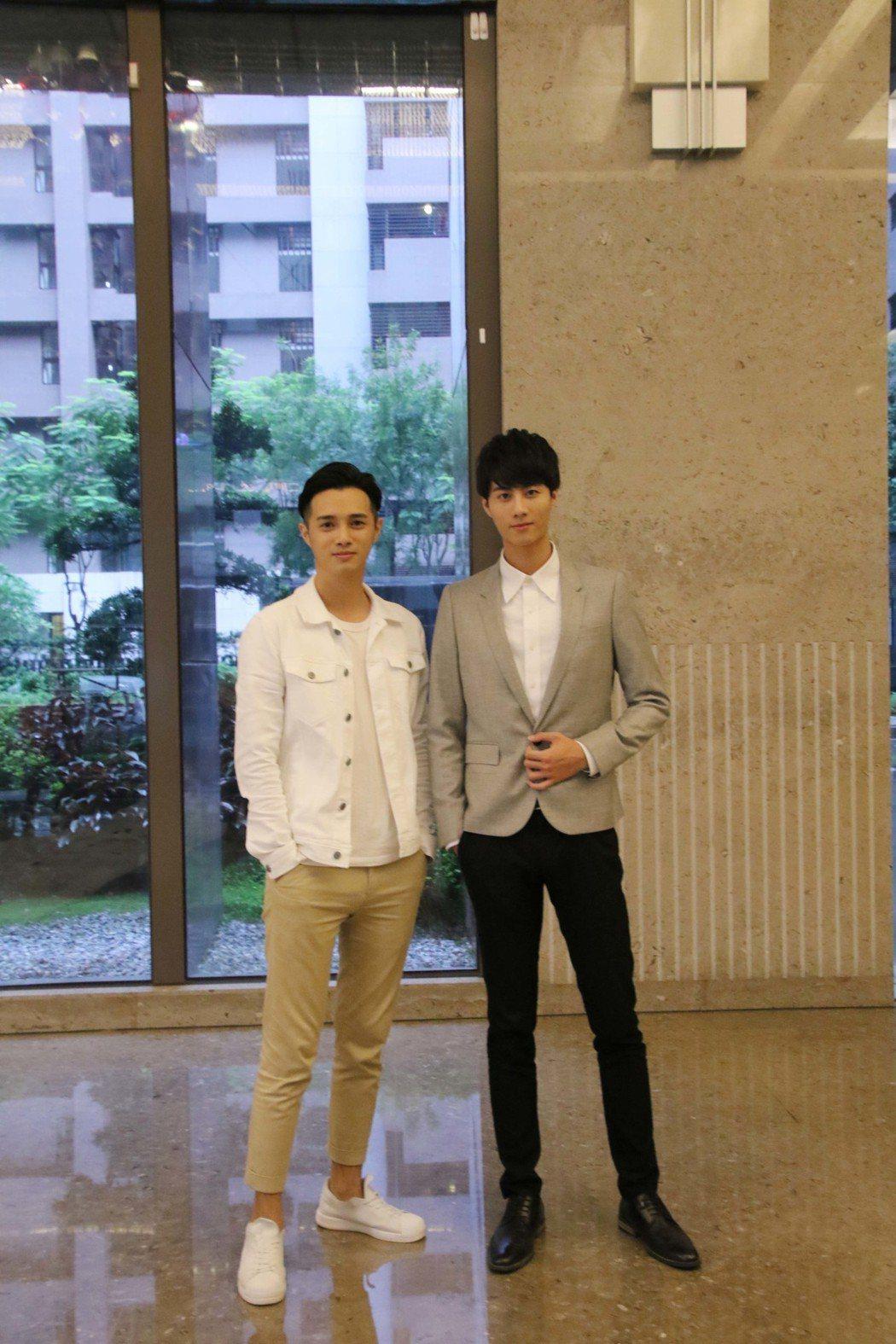 新生代演員連子淳(左)、王毓翔分別演過本土劇、BL劇,表現突出。圖/星和醫美提供