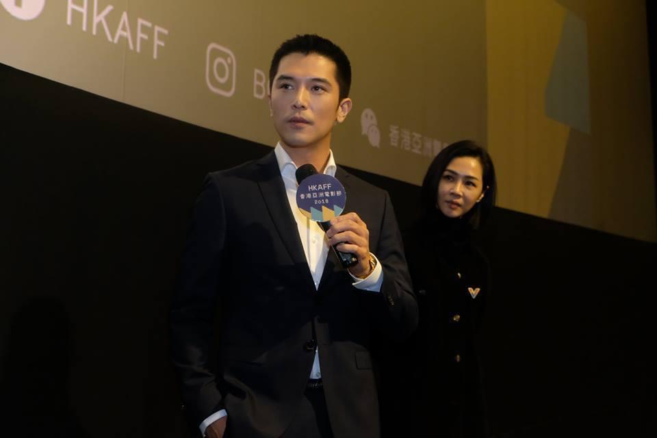 邱澤、謝盈萱出席香港亞洲電影節。圖/香港亞洲電影節提供