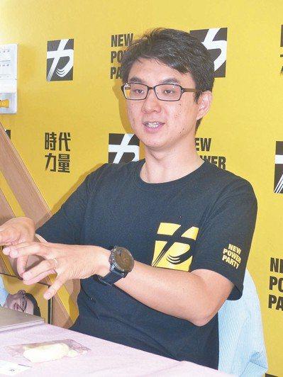 時代力量在彰化縣議員選舉初試啼聲,政治素人「荷蘭博士」吳韋達搶下1席。 記者劉明...