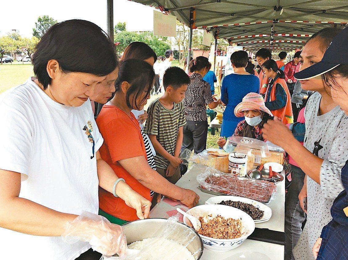 基督教芥菜種會在花蓮舉辦「安全城市嘉年華會」,透過遊戲互動和宣導攤位,讓民眾了解...