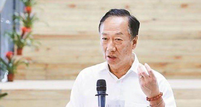 鴻海董事長郭台銘。 聯合報系資料庫