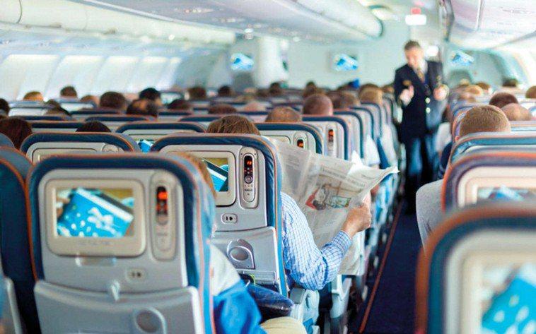 機艙示意圖。