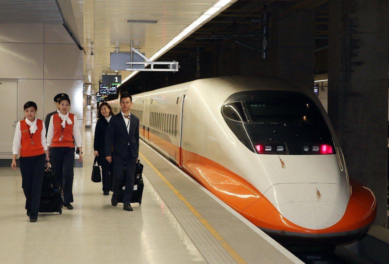 台灣高鐵從2011年起推動節能運轉,如今每年可以節省高達2700萬度電。 圖/聯...