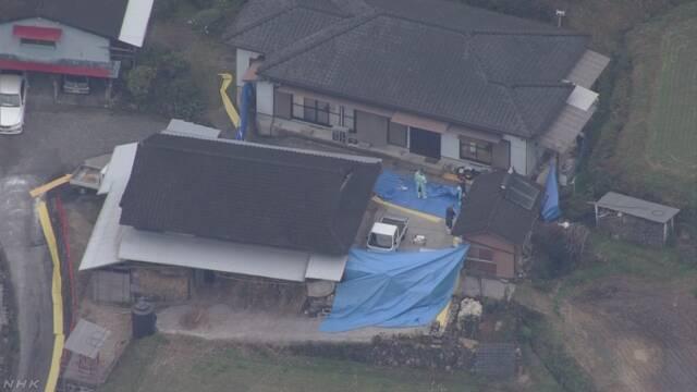 日本高千穗峽一處民宅今天發現6具遺體陳屍屋內外。 擷自NHK