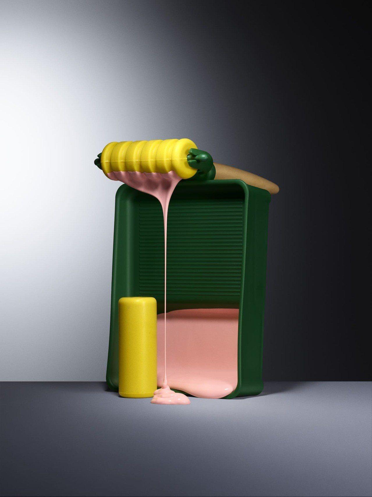 油漆滾筒玩具組,有平面及圖案兩種滾筒,提供孩子一個新工具創作大型圖畫。 IKEA...