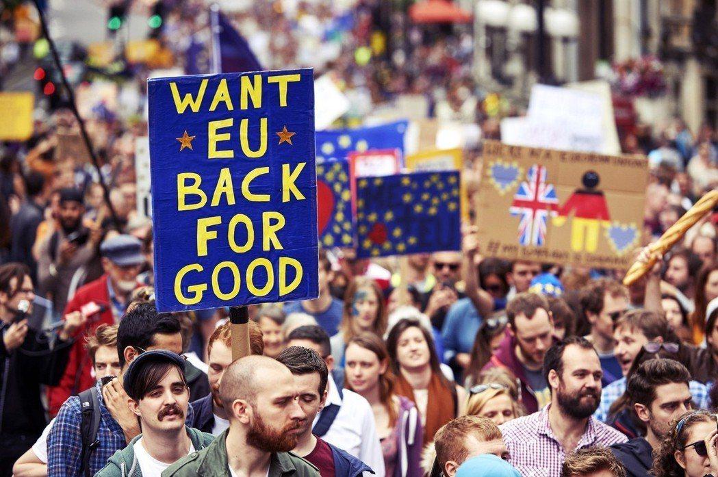 「回不來了...」聯合王國可以選擇留歐的時間早已過去,歐盟已經往前望了。 圖/法...