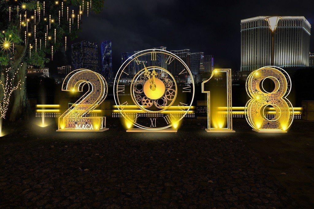 龍環葡韻的2018時鐘是必拍景點。 圖/澳門旅遊局提供