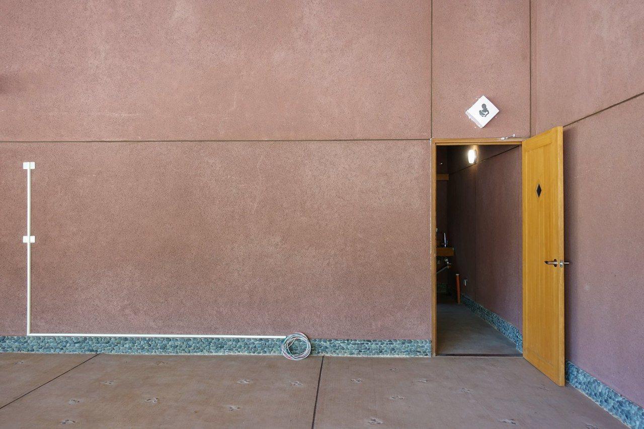 販賣部旁有一間哺乳室。 圖/宜蘭ㄚ欣的美食日誌FB授權