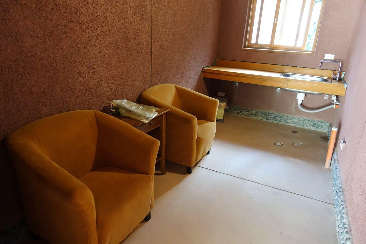 哺乳室內部照。 圖/宜蘭ㄚ欣的美食日誌FB授權