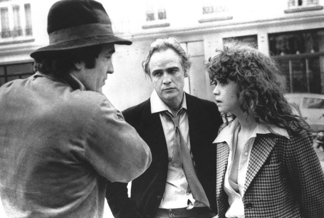 貝托魯奇承認,拍攝《巴黎最後探戈》時與男主角馬龍白蘭度(圖中)一起安排了一場強暴...
